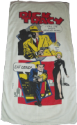 DICK TRACY -  MADONNA AS BREATHLESS WHITE BEACH TOWEL
